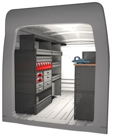 Diseños 3D para furgonetas