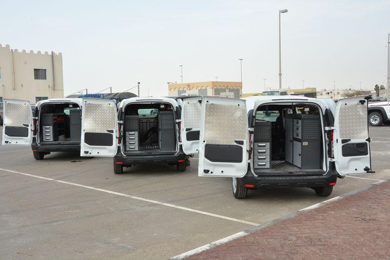 Equipar flota de vehículos