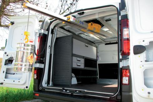 Grúa para trailers y furgonetas