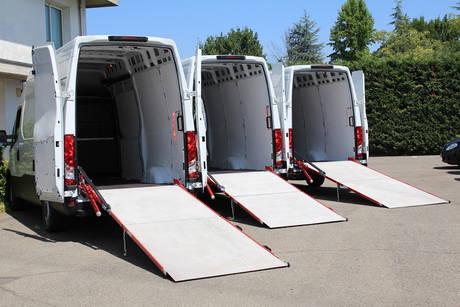 rampa de carga para furgonetas