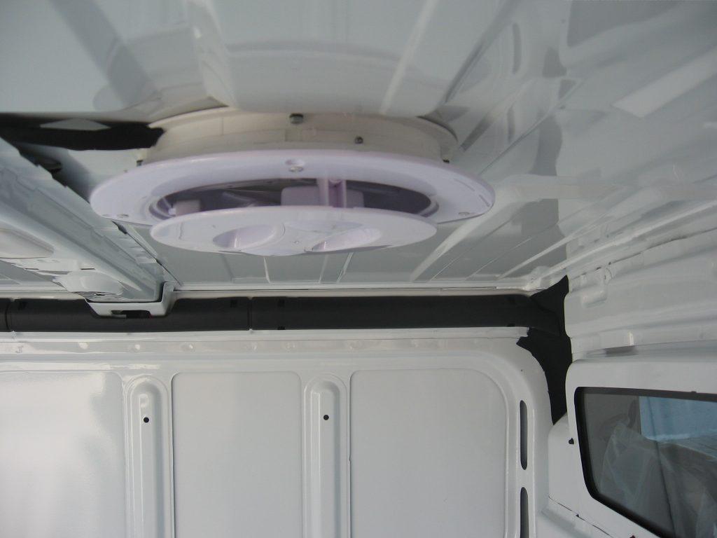 Aireador de techo con interruptor