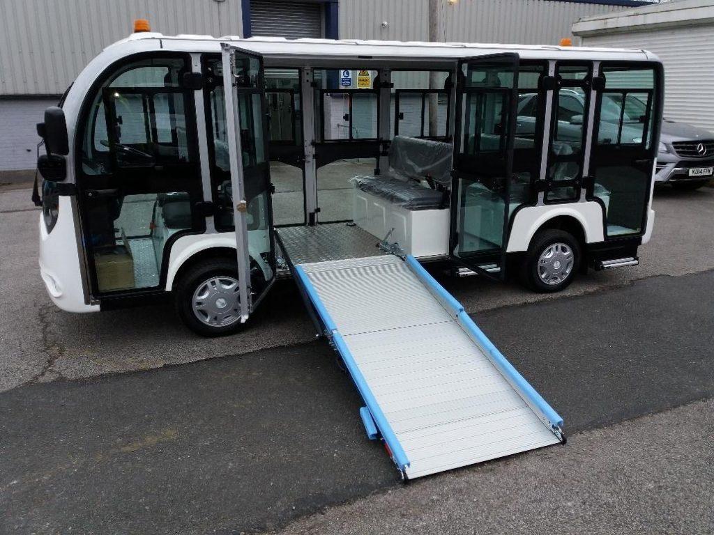 Rampas para vehículos eléctricos
