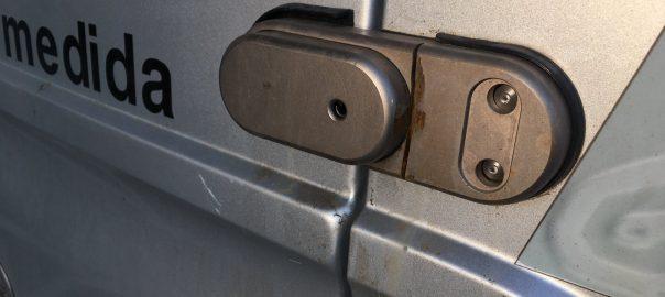 Cerradura para furgonetas