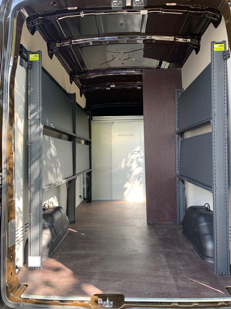 Ventajas de las estanterías para furgonetas