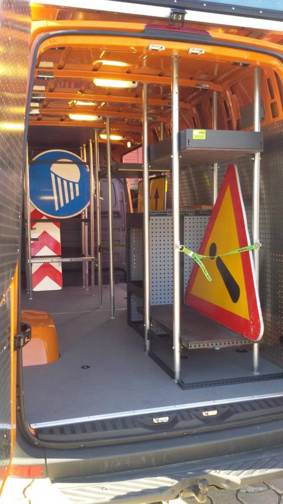 Barras telescópicas para furgonetas